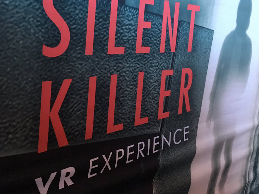 Image of the Silent Killer VR experience banner